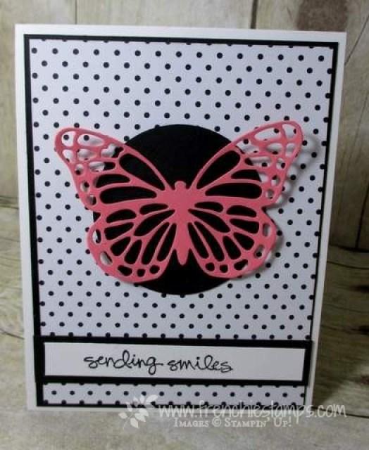 Twisted Pivot Card Butterfflies Thinlits