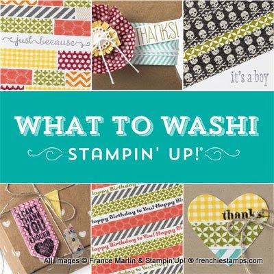 Stampin'Up! New Bundle Washi