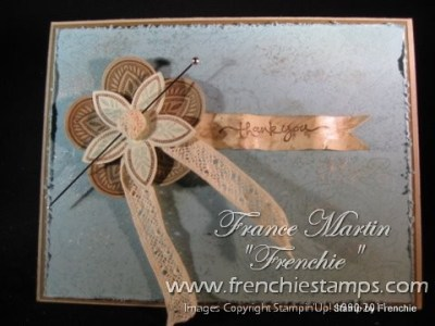 Stampin'Up! Triple Treat Flower