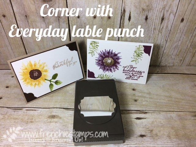 Everyday Label Punch for Corner