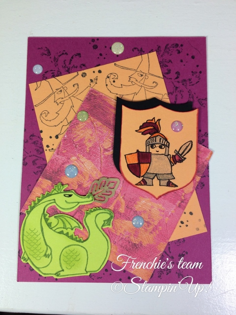 Magical Day, Sale a Bration and Occasion Stampin'Up! 2018, Frenchie stamps in the Spotlight,