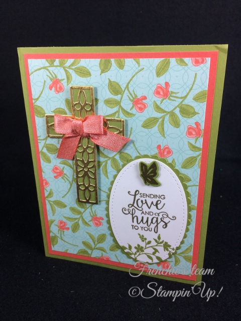 Hold on Hope,  Frenchie' Team, Stampin'Up!