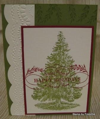 stampin'Up! Christmas Lodge