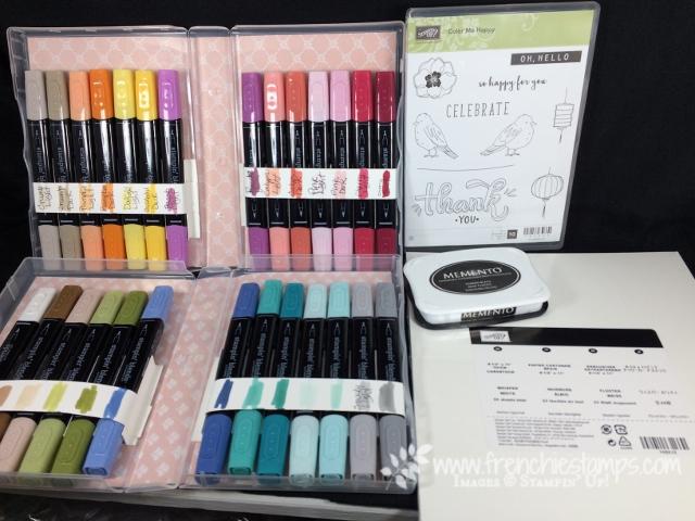 Stampin' Blends Club online, Stampin'Blends Case,  Color Me Happy, Stampin'Up!,