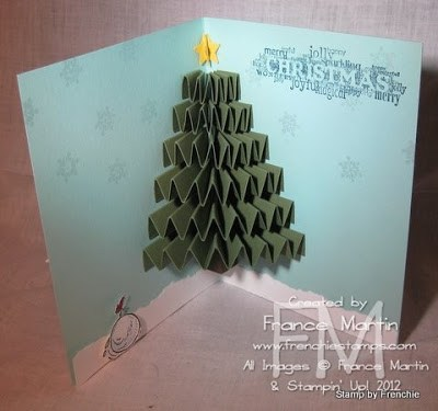 3-D Christmas Tree stampin'Up! catalog page 181
