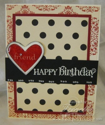 Stamping 411 with I {Heart} Heats