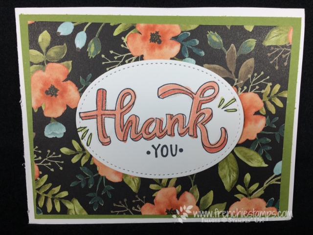 Color me Happy, Whole Lot of Lovely Designer Paper, stampin'Up!, Frenchiestamps