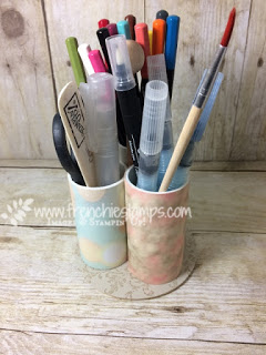 stamping tool organizer, stampin'Up!, frenchiestamps