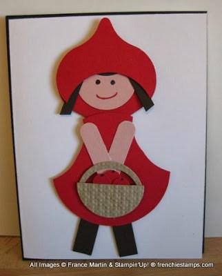 Little/Big Red Ridding Hood Punch Art