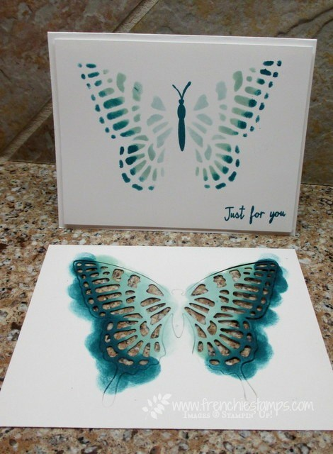 Stencil with Butterflies Thinlits