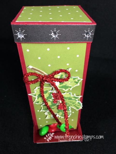Frenchie live, 3-D, Video, M & M Paper Dispenser,  Merry Little Label, Merry little Christmas designer paper,