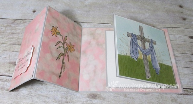 Easter Message, Wherever You Go, Stampin'Up!, Frenchie stamps