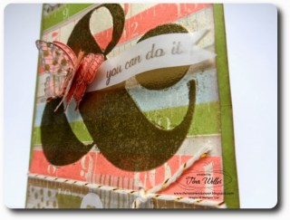 Ampersand Butterfly Card