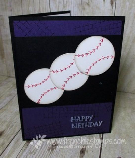 Baseball Season, Baseball Card