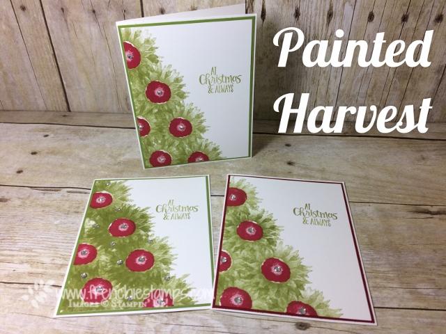 Painted Harvest Christmas Tree