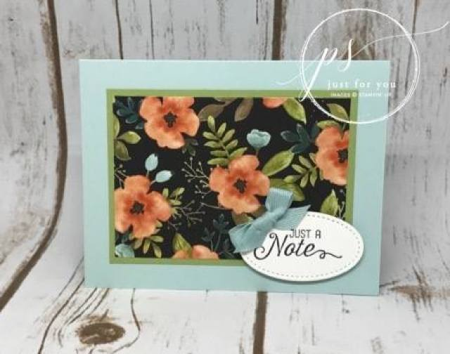 Whole Lots of Lovely Designer paper on sales, Stampin'Up!