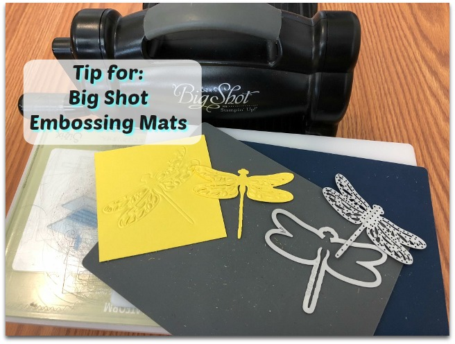 Embossing Mats Tips Video