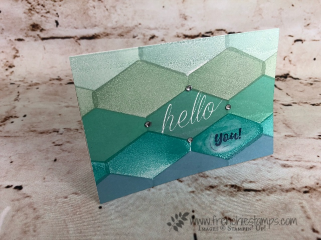 Accented Blooms forTile Card