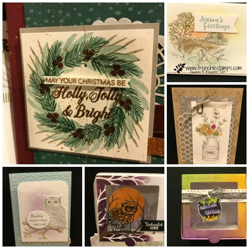 Stampin'Up! Alaska Cruise 2018, Frenchie Stamps, Holiday New Release Stampin'Up! 2018,