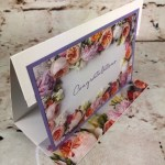 Gift Card Holder, Petal Promenade Designer Paper, Frenchie Stamps, Frenchie Live Class, Stampin
