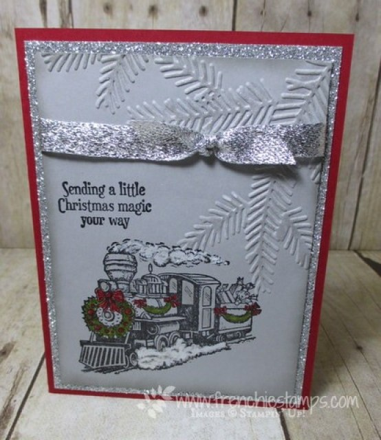 Christmas Magic with Pine Bough