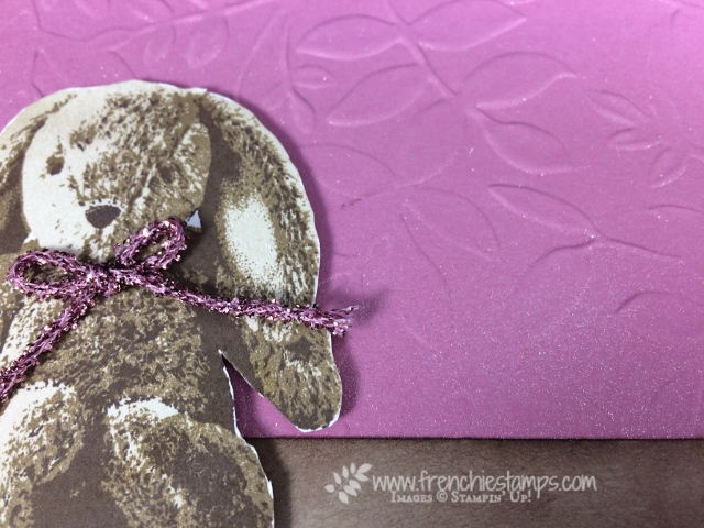 Sweet Little Something, Shimmer Spritz DIY, Stampin'Up!, Frenchiestamps,