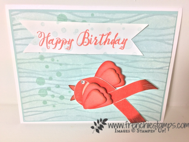 ribbon of courage, Stampin'Up! Frenhie's presentation On Stage 2017
