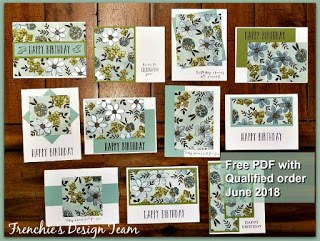 Share What You Love, One Sheet Wonder, Frenchie team Design team, Stampin'Up!