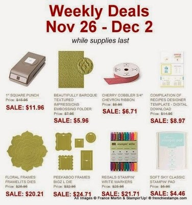 Deal of the Week plus Holiday sales, Mystery Host