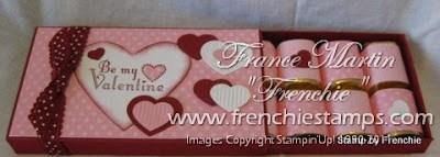 Frenchie craft room & Valentine Nugget Box