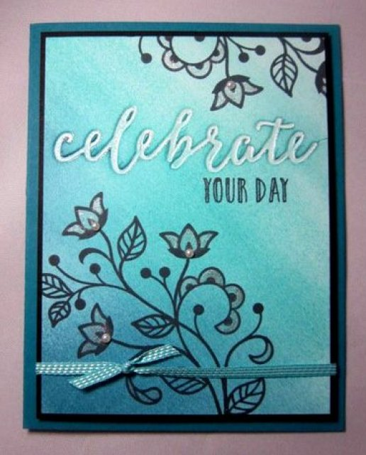 Celebration Duo Textured Folder