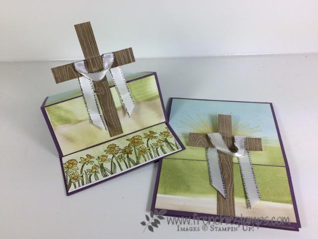 Easter Cross, Wherever you go, Easter Sunrise, Stampin'Up!