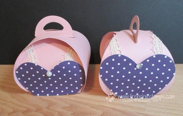 Curvy Keepsake box/Bra October Breast awareness