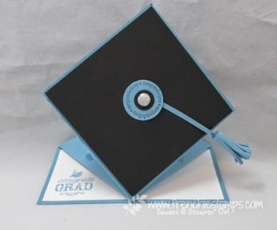 Graduation Easel Cap Card