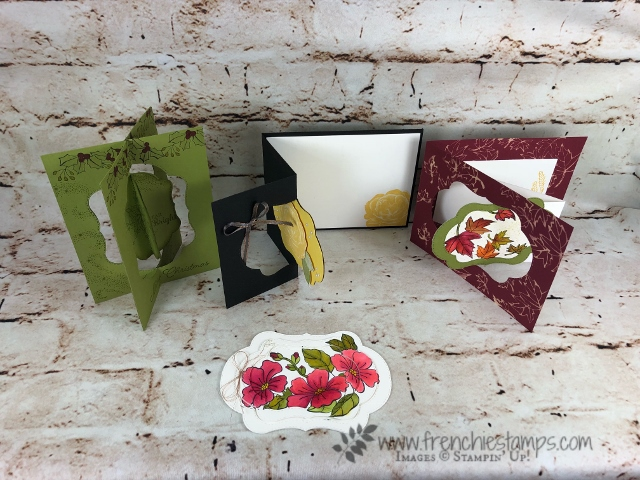 Stitched Seasons, Healing Hugs, Frenchie Live Class, Flip Card, Stampin'Up!, Star of Light,