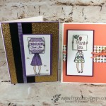 sample using the Hand Delivered stamp set. Perfect set for all occasion. Product from Stampin