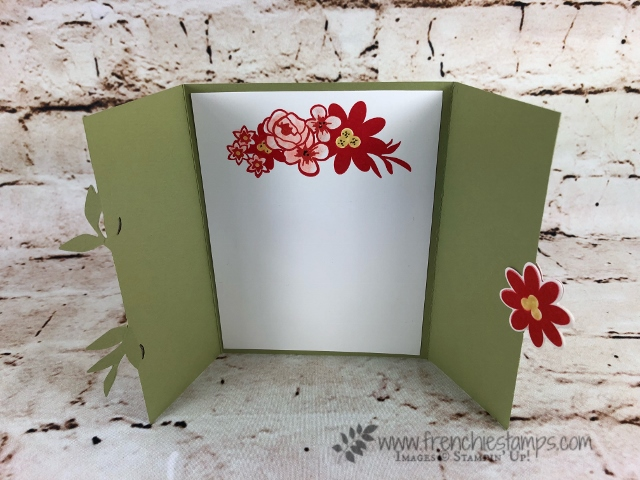 Gated Fold and Bouquet Blooms bundle. All product are from Stampin'Up! and available to purchase at frenchiestamps.com