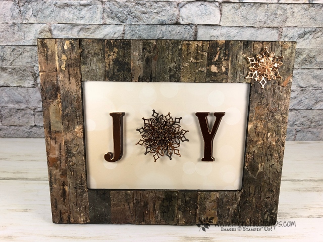 Rustic Joy Frame Frenchie Stamps