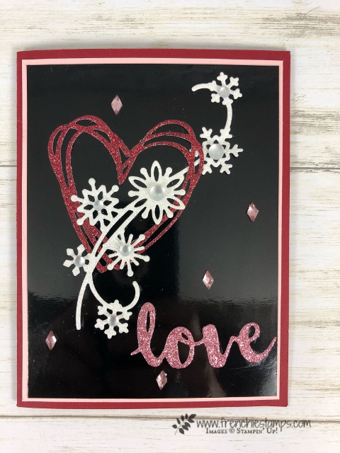 Valentines with Snowfall and Sunshine Wishes Thinlits