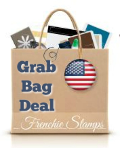 Cyber Monday Frenchie Deal. Get a grab bag with qualified order. Plus Double Point. All Stampin'Up! Product. Frenchiestamps.com