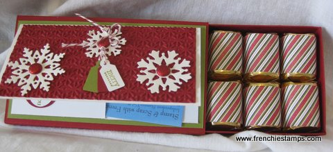 Stocking Stuffer. Gift Card Holder Slider Box. Frenchiestamps.com