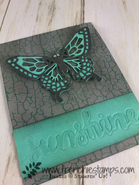 Tip for the Butterfly Beauty Thinlits. How to separate them and more. The adhesive sheet is a greet product to adhere the layers. All supplies by Stampin'Up! available at frenchiestamps.com
