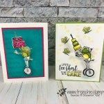 How to make a wobble card using the Hop Around Framelits and So Hoppy Together. Also I used the Amazing Life and Piece of cake. Product by stampin