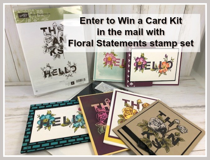 Card Kit and Stamp Set Giveaway
