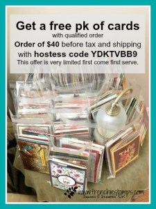 Get a stash of card with qualified order at frenchiestamps.com