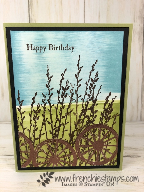 Emboss Faux Illusion. stamp set Country Road. All product by Stampin'Up! available at frenchiestamps.com