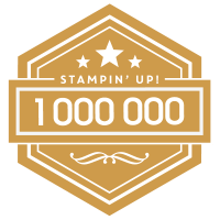 Stampin'Up! million dollar Achiever May 2019
