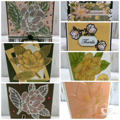 Perennial Essence Vellum  showcase with Frenchie' Team