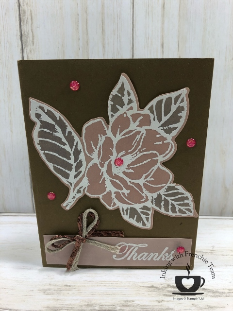 Showcase of the Perennial Essence Vellum paper with Frenchies' Team. Stamp set Good Morning Magnolia, Daisy Land. #stampinup #stamping #frenchiestamps #cardmaking #papercrafts #handmadecards