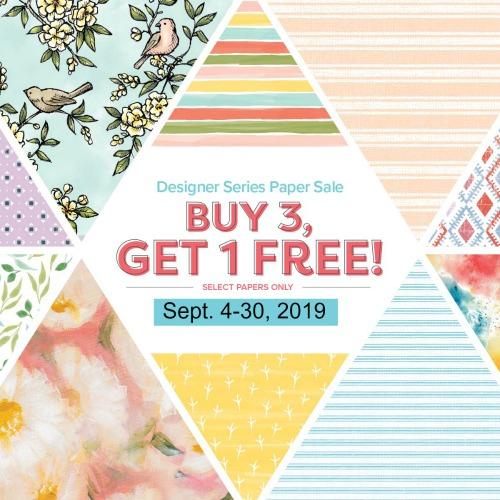Designer paper sale, Buy 3 Get 1 Free
